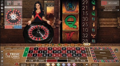 Extreme Live Gaming logiciel casino