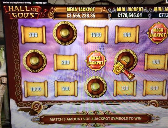 Le moment ou on se dit que le méga jackpot va tomber...