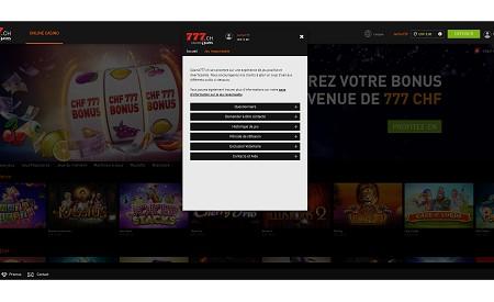 Casino777.ch aperçu