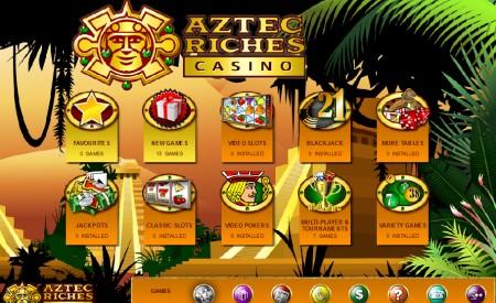 Aztec Riches aperçu