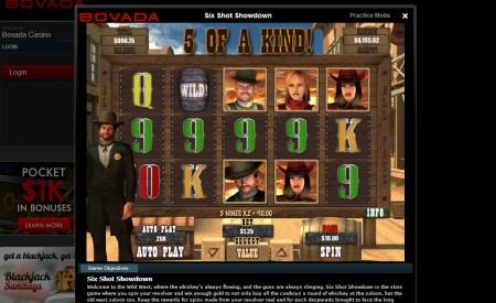 Bovada Casino aperçu