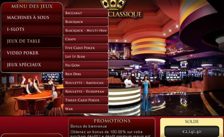 Casino Classique aperçu
