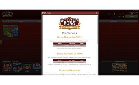 Golden Euro aperçu
