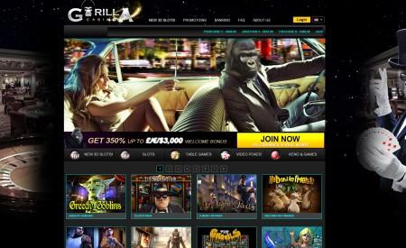 Gorilla Casino aperçu