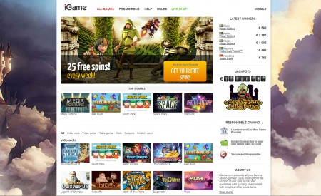 iGame Casino aperçu