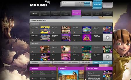 Maxino Casino aperçu