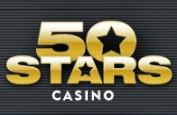 50 Stars Casino revue logo