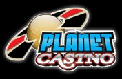 Planet Casino revue logo
