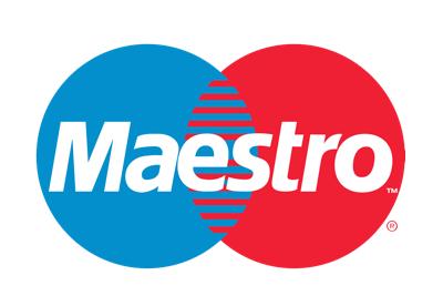 Maestro logo paiement casino