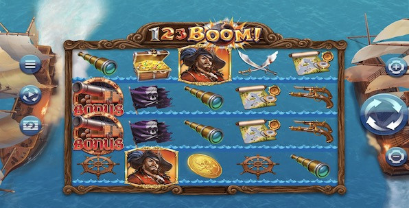 1 2 3 Boom ! Nouvelle slot Relax Gaming pour les amateurs de pirates
