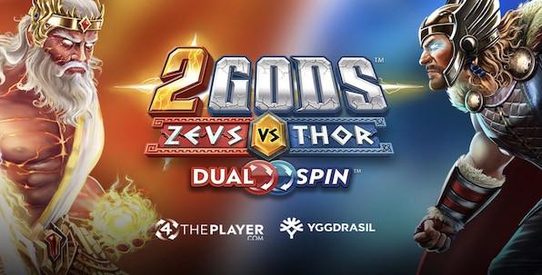 Qui de Zeus ou de Thor vous rapportera le plus sur cette nouvelle slot Yggdrasil ?
