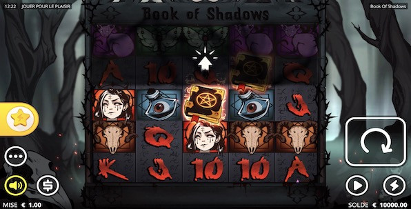 Book of Shadows : une superbe découverte Nolimit City !