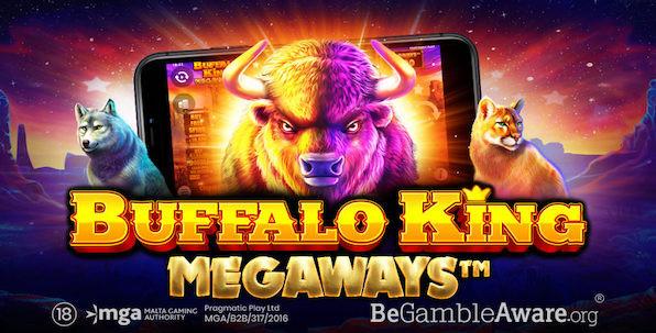 Buffalo King Megaways : volatile, dynamique et disponible !