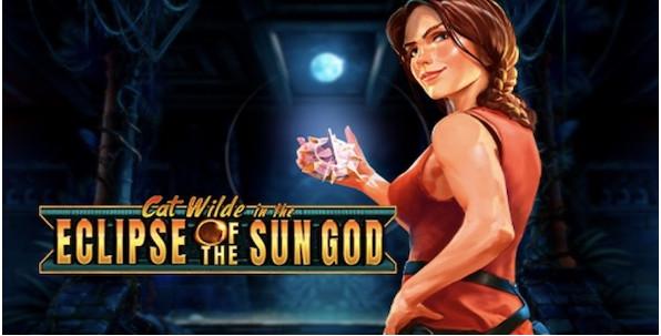 Eclipse of the Sun God : Play'n Go lance une nouvelle machine à sous à l'effigie de son héroïne Cat Wilde
