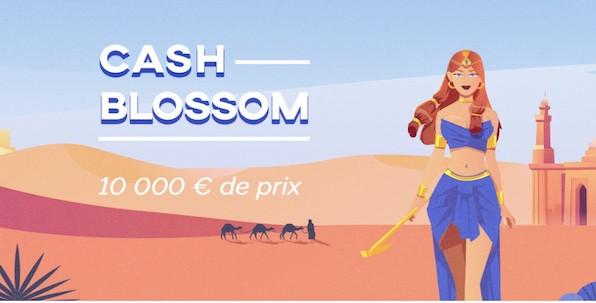 Cash Blossom : comment gagner jusqu'à 2,500€ cash avec GameArt