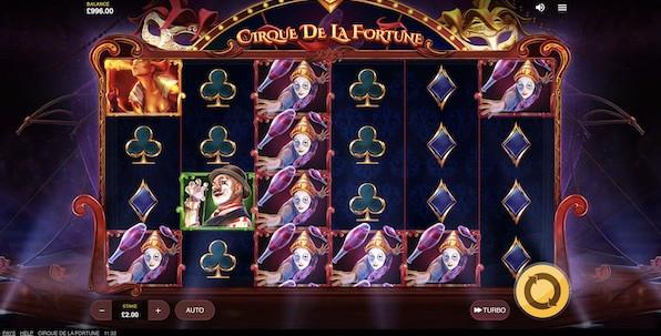 N'oubliez pas votre ticket pour participer à l'expérience unique de Cirque de la Fortune !