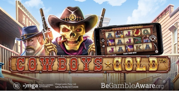 Cowboys Gold : la nouvelle slot Pragmatic Play direction le far west