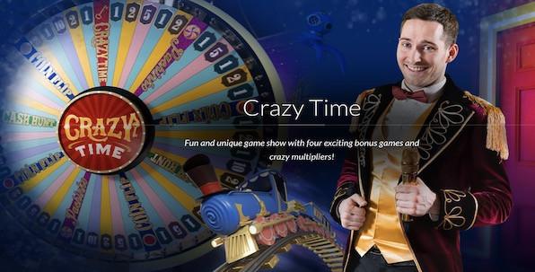 Crazy Time, l'un des meilleurs jeux live jamais lancés !