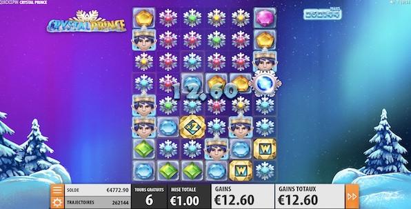 Crystal Prince, la nouvelle slot Quickspin avec 117,649 lignes gagnantes potentielles !