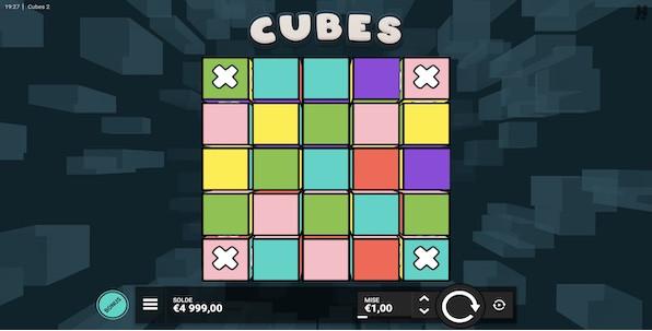 Cubes 2 : une machine à sous parmi les plus originales du marché des casinos en ligne