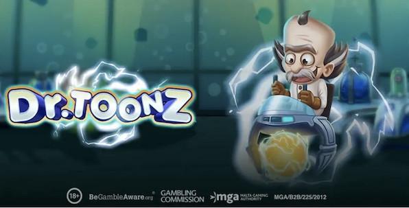 Aux origines de Reactoonz, découvrez la machine à sous Dr.Toonz !