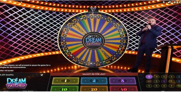 Dream Catcher : le Live Casino a sa roue de la fortune grâce à Evolution