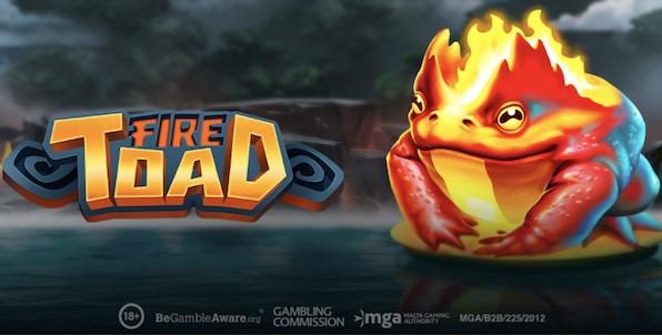 Fire Toad, nouvelle slot Play'n GO à découvrir cette semaine
