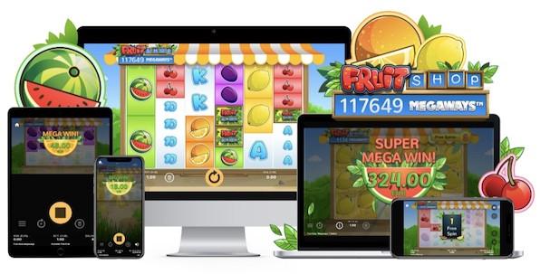 Fruit Shop Megaways, la nouvelle addition fruitée et sucrée des casinos Netent !
