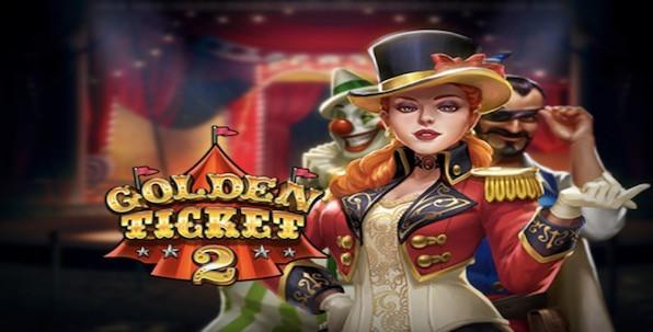 Golden Ticket 2, la slot qui vous emmène au cirque