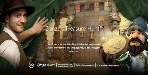 Gonzo's Treasure Hunt : Nouvelle aventure Live Casino pour l'explorateur Gonzo !