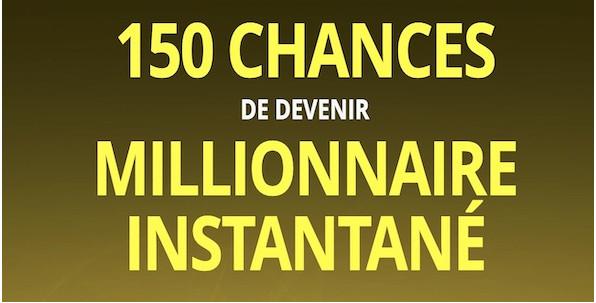 150 chances de devenir millionnaire avec Grand Mondial, info ou intox ?