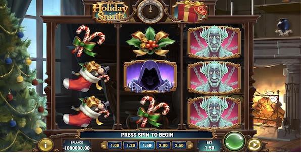 Holiday Spirits : Play'n GO en avance sur les fêtes de Noël
