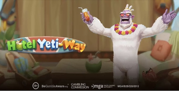 Hotel Yeti-Way, nouvelle slot Play'n GO pour profiter des vacances