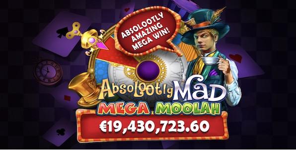 Le nouveau record du monde de gains sur une machine à sous en ligne est Belge ! 19,4€ millions remportés