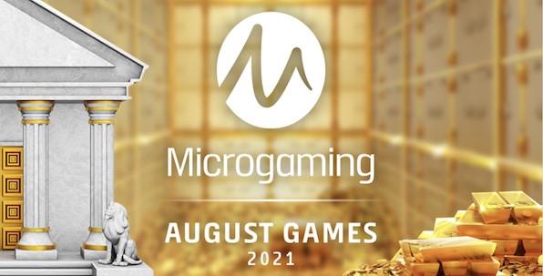 Deux nouvelles slots Microgaming immanquables en Août !