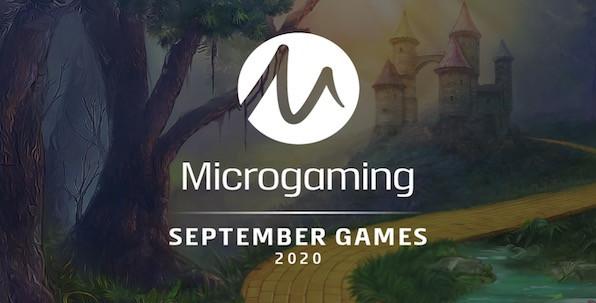 Le mois de septembre est placé sous le signe du jackpot pour Microgaming