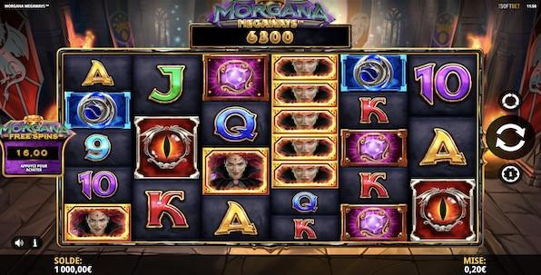 Morgana Megaways : la slot avec l'un des modes de free spins les plus intéressants du marché