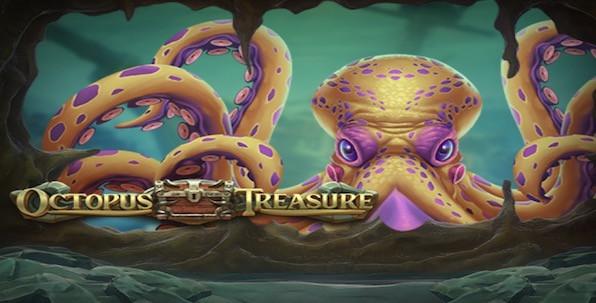 Un maximum de fonctionnalités bonus à retrouver avec la slot Octopus Treasure !