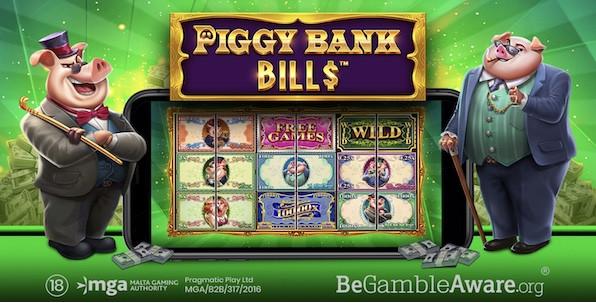 Piggy Bank Bills, la nouvelle machine à sous extravagante de Pragmatic Play !