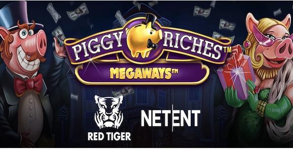 Piggy Riches Megaways sacrée meilleure slot de l'année !