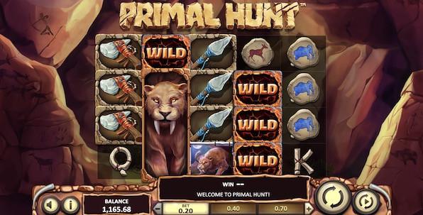Primal Hunt, faites copain-copain avec un tigre sabre grâce à la nouvelle slot Betsoft