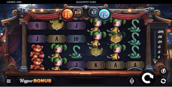 Une nouvelle slot Flatdog qui déferle sur le marché : Quackpot Cash