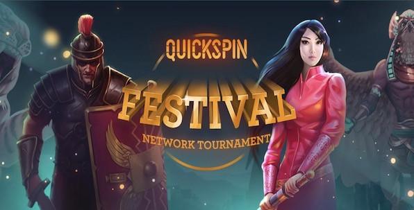 Partagez-vous 100,000€ avec Quickspin jusqu'au 11 octobre !