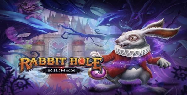 Rabbit Hole Riches, la nouvelle adaptation en machine à sous d'Alice au pays des Merveilles