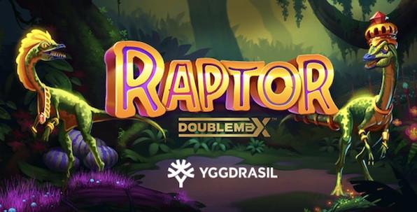 Yggdrasil Gaming vous propose des multiplicateurs infinis avec Raptor Doublemax !
