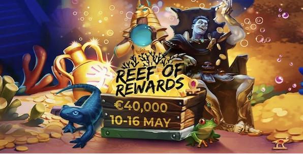 Reef of Rewards : 40,000€ à gagner avec Yggdrasil jusqu'à dimanche !