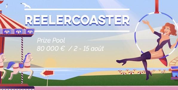 Comment participer à la promotion ReelerCoaster et ses 80,000€ offerts ?
