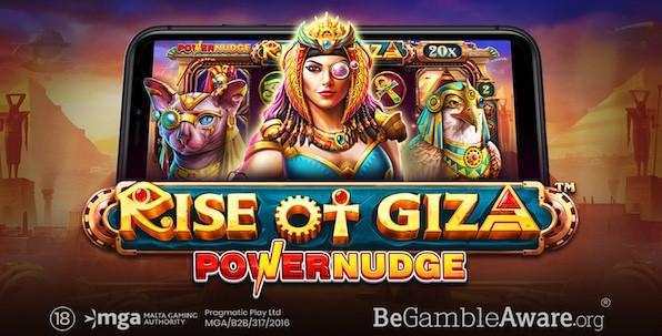 Pragmatic Play revisite l'Egypte Antique avec la slot Rise of Giza PowerNudge !