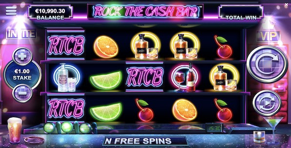 Rock the Cash Bar, la nouvelle machine à sous Yggdrasil Gaming qui sent le cocktail
