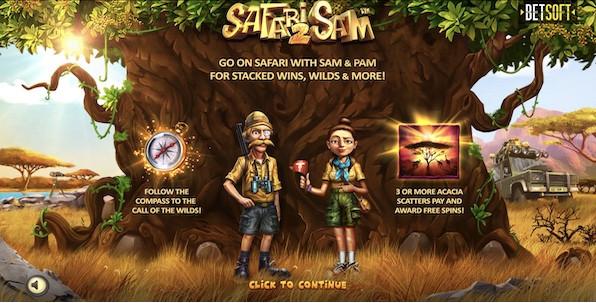 Découvrez en exclusivité la machine à sous Safari Sam 2, gratuitement et un mois avant sa sortie officielle !